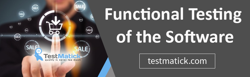Functional Testing of the Software