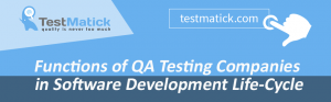 Functions of QA Testing Companies in Software Development Life-Cycle