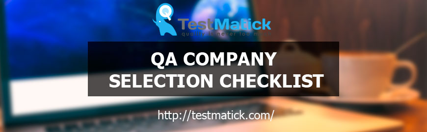 Quality-Assurance-Company-Selection-Checklist