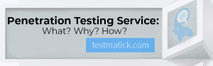 Penetration Testing Service. What. Why. How.