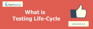What is Testing Life-Cycle