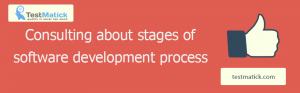 Consulting About Stages of Software Development Process