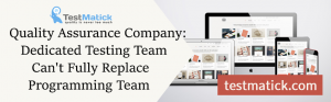 Quality-Assurance-Company:-Dedicated-Testing-Team-Can't-Fully-Replace-Programming-Team