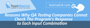 Reasons-Why-QA-Testing-Companies-Cannot-Check-The-Program's-Response-to-Each-Input-Combination