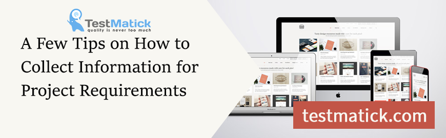 A Few Tips on How to Collect Information for Project Requirements
