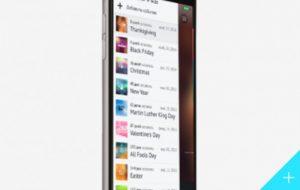 Calendar Application for iOS Platform