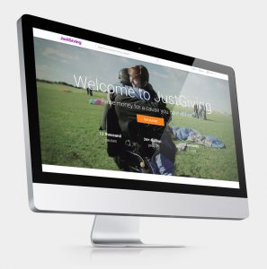 Web-Site for Online Fundraising Donations and Ideas