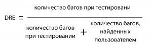 Формула-DRE