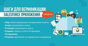 Шаги для верификации Salesforce приложения