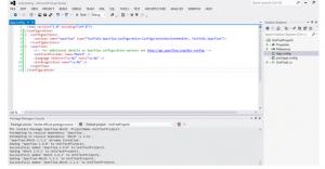 Редактирование содержимого в Visual Studio