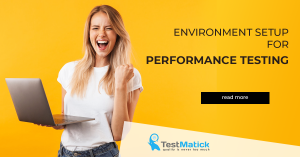 Environment-Setup-for-Performance-Testing