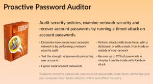 Программа Proactive Password Auditor