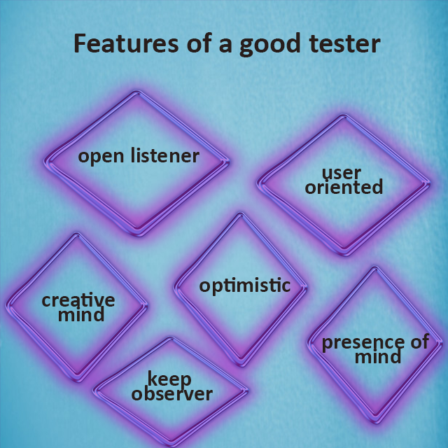 Features of a good tester