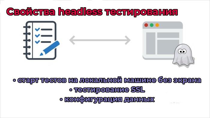 Свойства headless тестирования