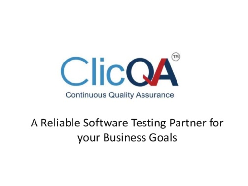 Логотип ClicQA