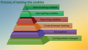 Process of testing the cookies