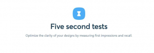 Five Second test logo