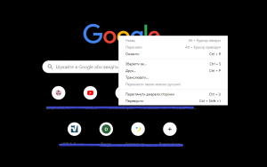 Web elements search in Google Chrome