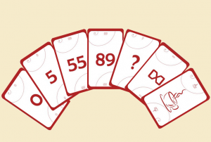 Cards for planning poker
