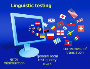 Linguistic testing