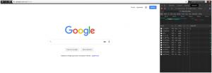 Вкладка Network в браузере