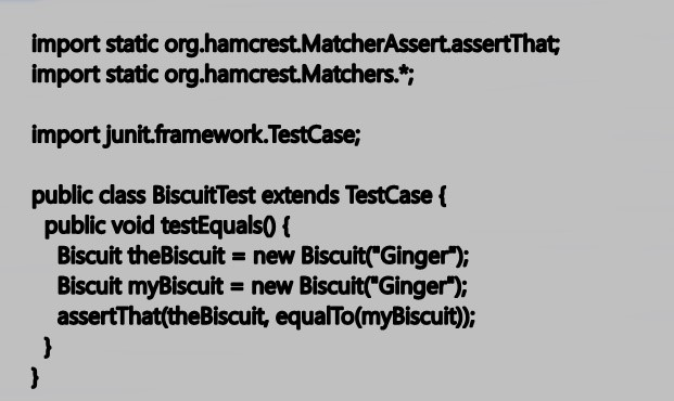 An Example of Hamcrest Usage