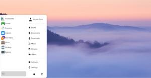 Zorin OS interface