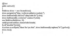 Пример использования WebDriver на Java