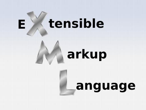 Explanation of XML abbreviation