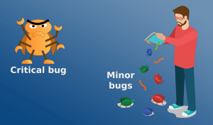 Critical and minor bugs