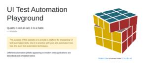 Платформа для автоматизированного тестирования UI
