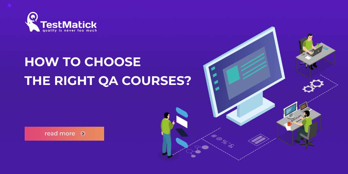 How to Choose the Right QA Courses