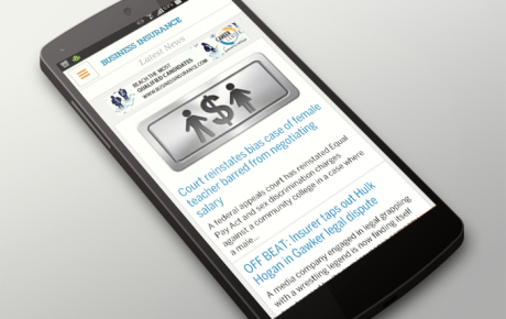 Android Application for Business Insurance